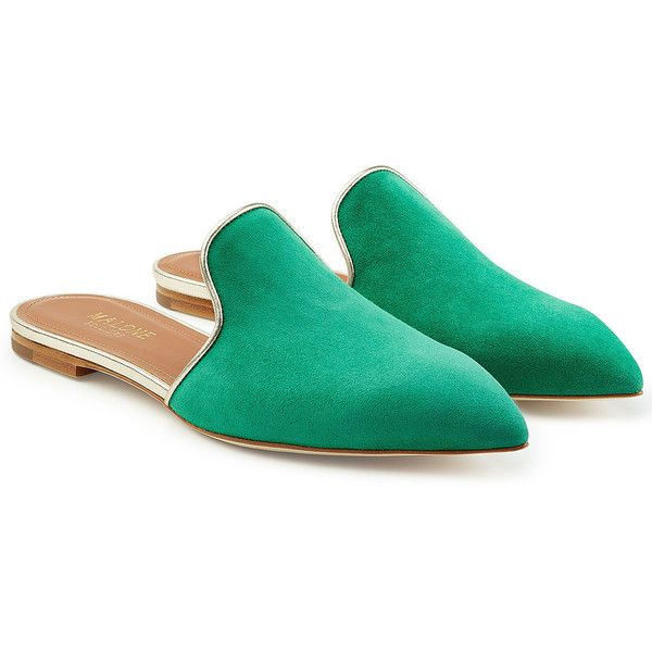 Free Shipping Enjoy MALONE SOULIERS Suede Mules Cheap Shopping Online Cheap Professional HCDob