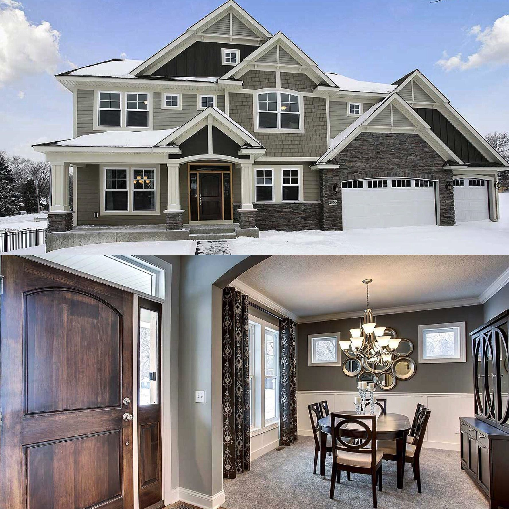 Cold outside cozy inside architectural designs exclusive house plan hs beds and square feet ready when you are also rh co pinterest