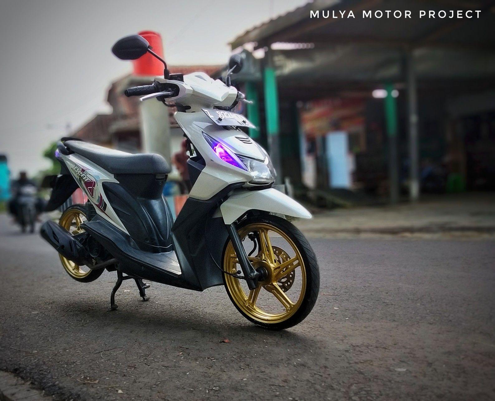 Honda Beat Karbu Modif Simple Elegan Dan Asik
