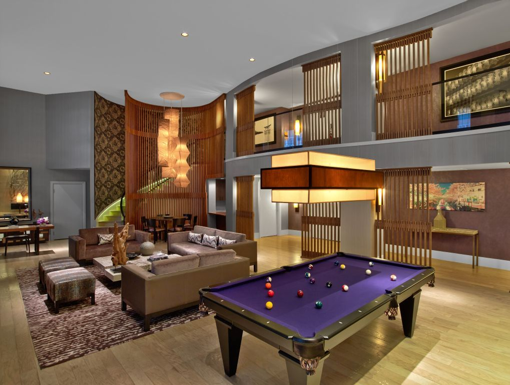 Rendering of the Penthouse Suite at Nobu Hotel within ...