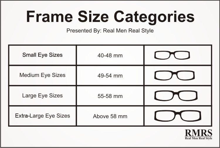 Eyeglass Size Chart Chart Glasses In 2019 Eye Glasses Online