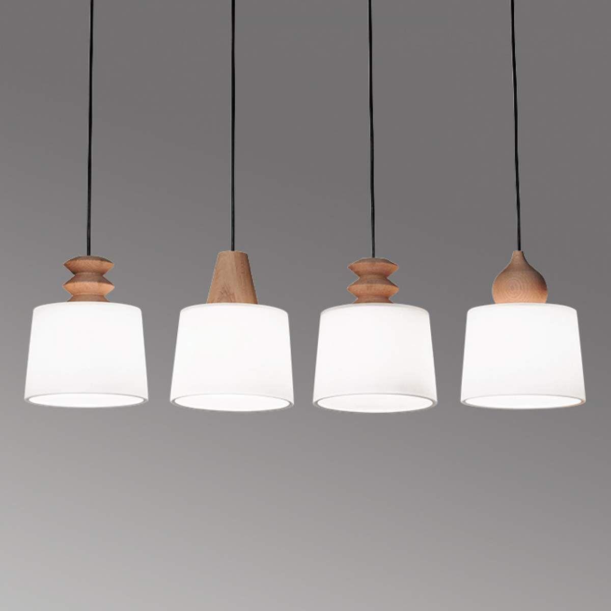 Geradlinige Hangelampe Eduardo Mit Vier Schirmen Jetzt Bestellen Unter Https Moebel Ladendirekt De Lampen Deckenleuchten Deck Lampe Hangeleuchte Hange Lampe