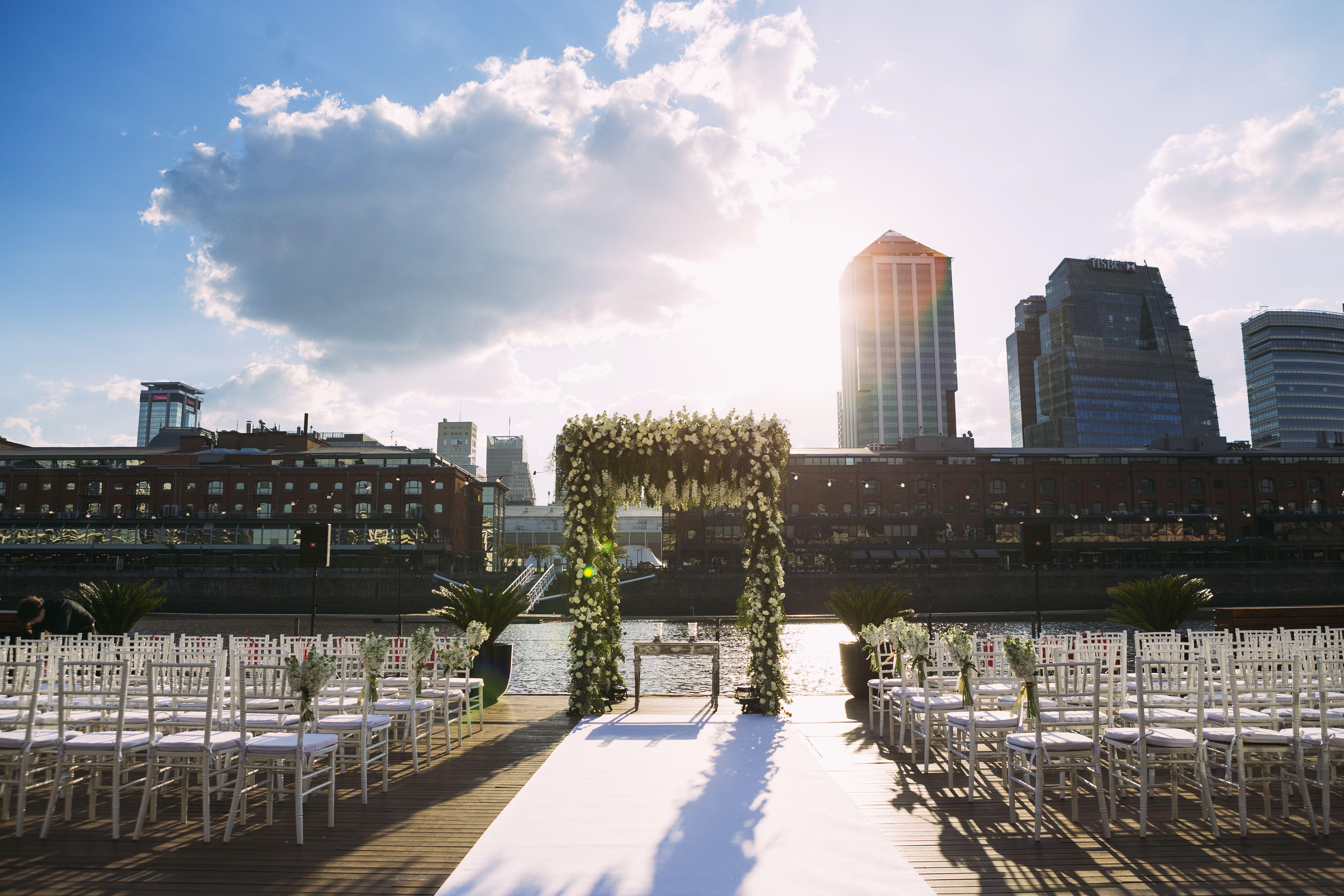 Ceremonia De Casamiento En Terraza Deck Terraza Deck En