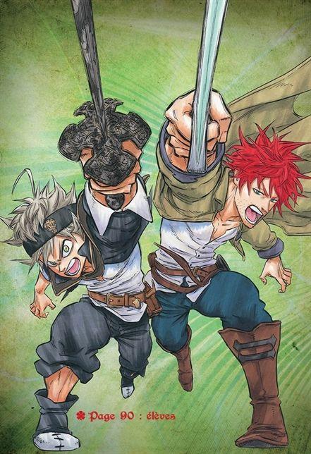 Pin de +841253220258 em BLACK CLOVER Otaku anime, Anime