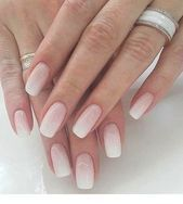 Photo of Light pink ombre nails | Inspiring Ladies – Nagel Ideen  Light pink ombre nails …