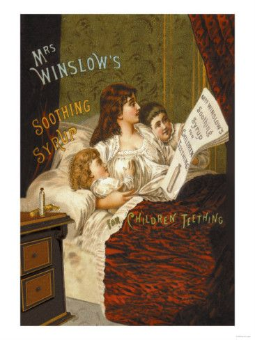 Vintage Advertising Art Print Poster Mrs Winslows Soothing Syrup