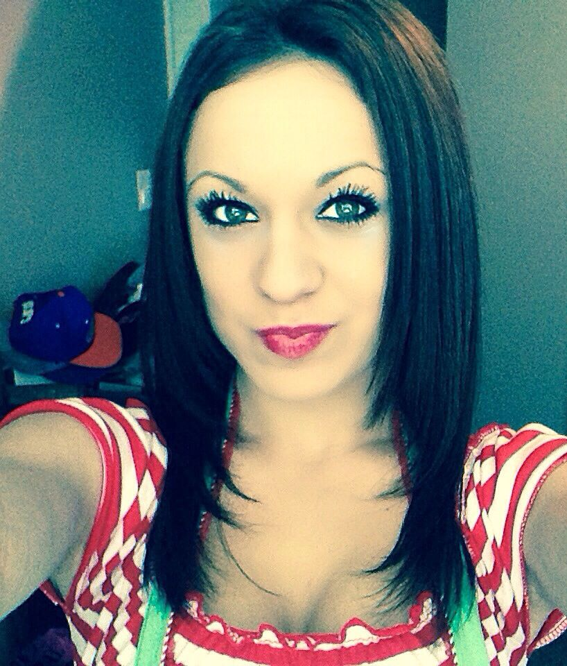 Red lipstick #christmas #elf #makeup #brightredlipstick