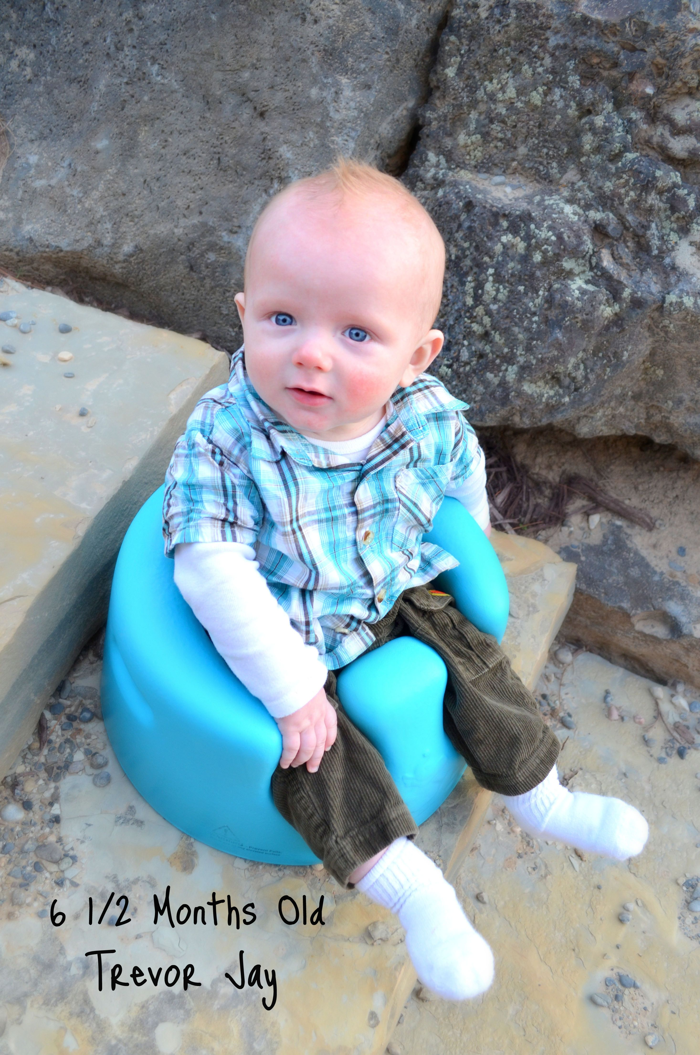 ff2a1d430 6.5 month old baby boy - Cassie Marie Photography