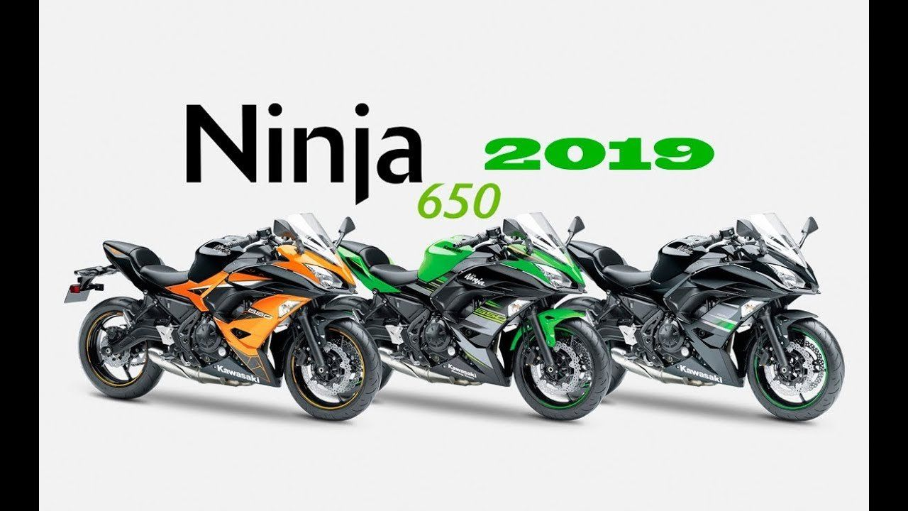 Kawasaki 650 Ninja 2019 Engine from 2019 New Color Range Kawasaki
