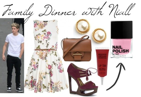 1Derful Fashion — Family Dinner with Niall  Requested by Anon