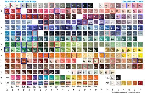 Coats and clark embroidery thread color chart nice plastic surgery