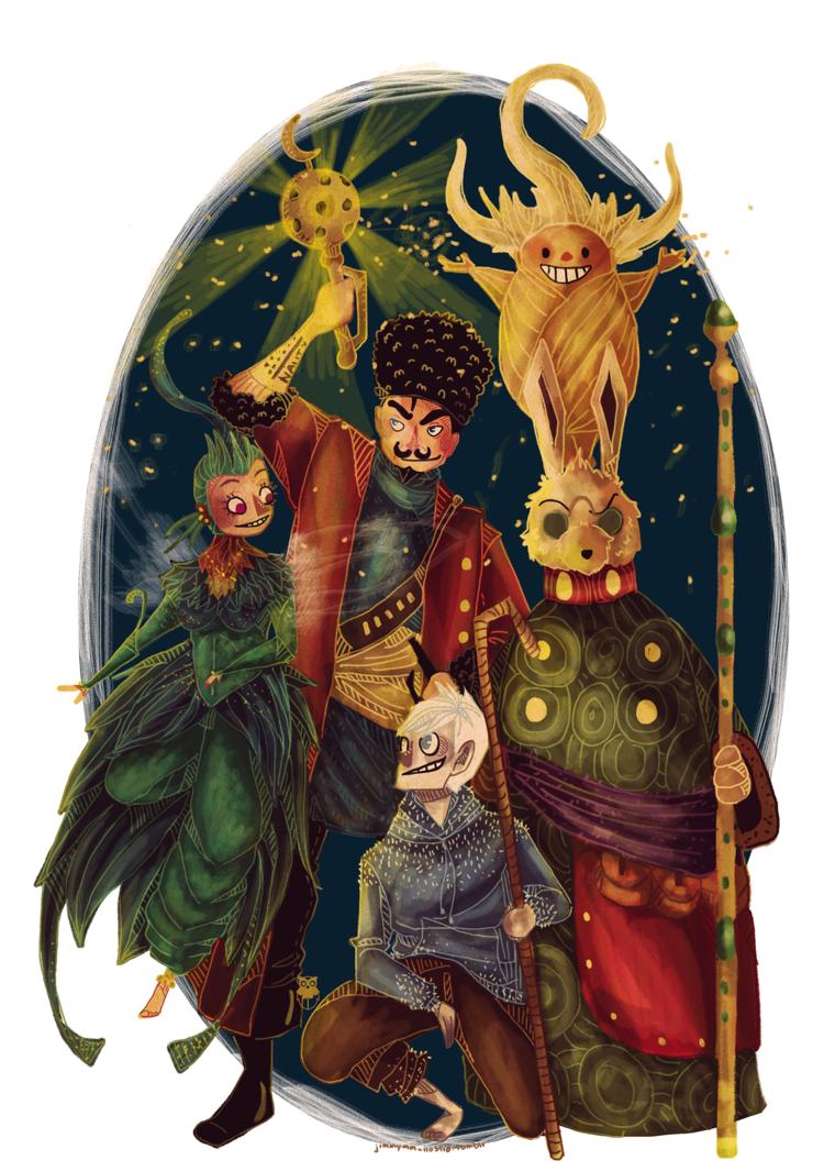 Guardians of Childhood by Jimmy-ilustra on DeviantArt