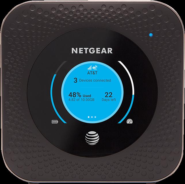 Netgear Nighthawk LTE Mobile Hotspot Router Steel Gray 512