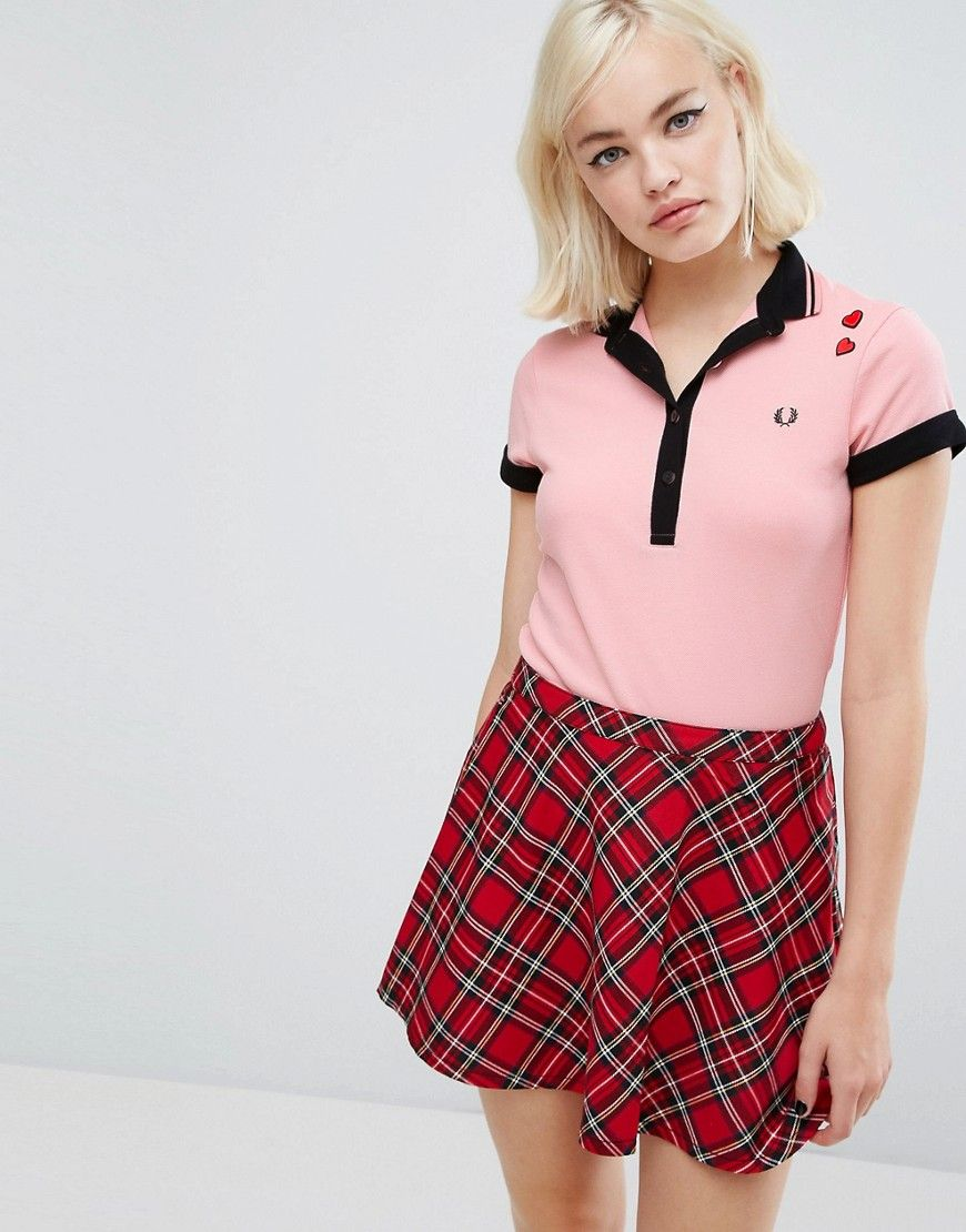 6af3595d7 Fred Perry Amy Winehouse Foundation Polo Shirt - Pink