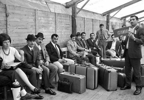 Düsseldorf'tan İstanbul'a yolculuk (1970) Almanya İşçi