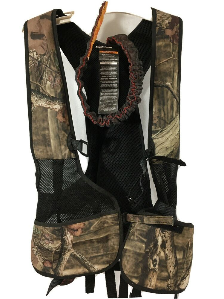 Tree Stand Safety Harness GORILLA GEAR Vest Hunting Camo