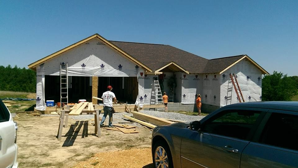 Ready for windows and doors then brick is going up!