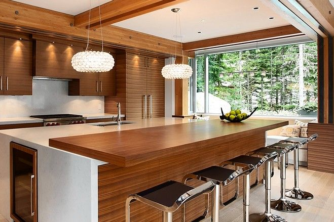 Kitchen Design Ideas Canada the new anti-ski house | west coast style, coast style and