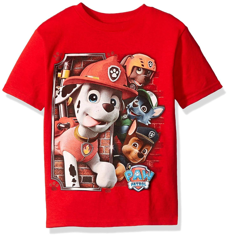 Paw Patrol T-Shirt Pack of 2Boys PAW Patrol Short Sleeve Tops 2 Pack