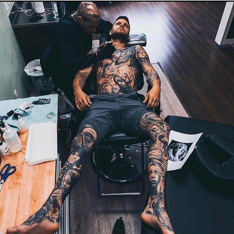 3 134 Likes 14 Comments In Ink We Trust Tattooz Inked On Instagram Must Follow Inkkaddicted Constilation Tattoo Boy Tattoos Leg Sleeve Tattoo