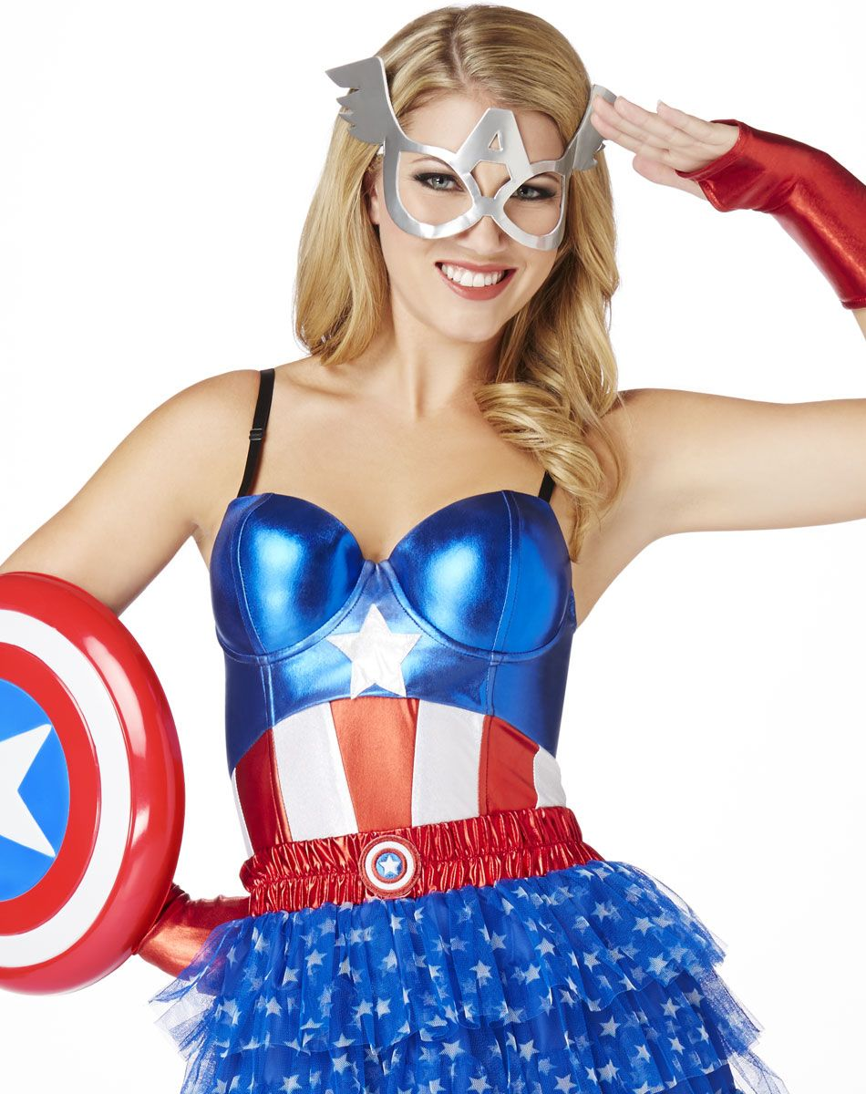 Captain America Corset | Super Hero Reception | Pinterest | Capt ...