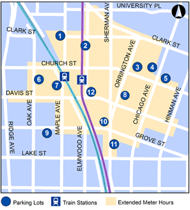 Parking in Evanston is affordable and convenient! All ...