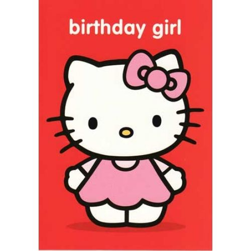 Hello Kitty Birthday Card My Birthday Pinterest Hello Kitty