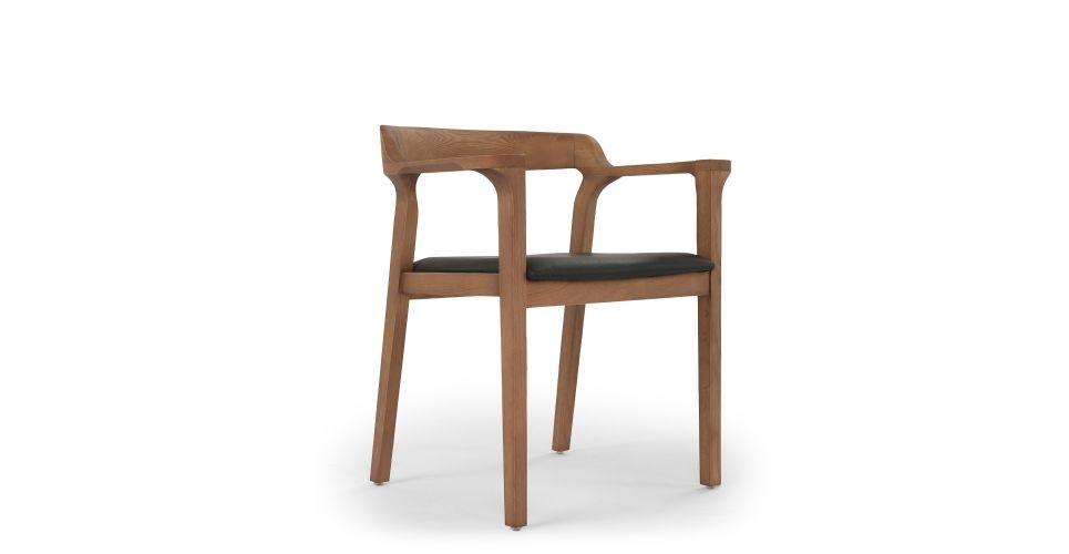 Chaise Design Noir Glossy Bois De Noyer Nv Gallery Indigo Chaise Bois Design Chaises Bois Chaise Design