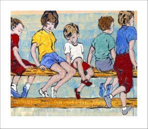 David Bromley Childhood David Bromley Art Australian Art