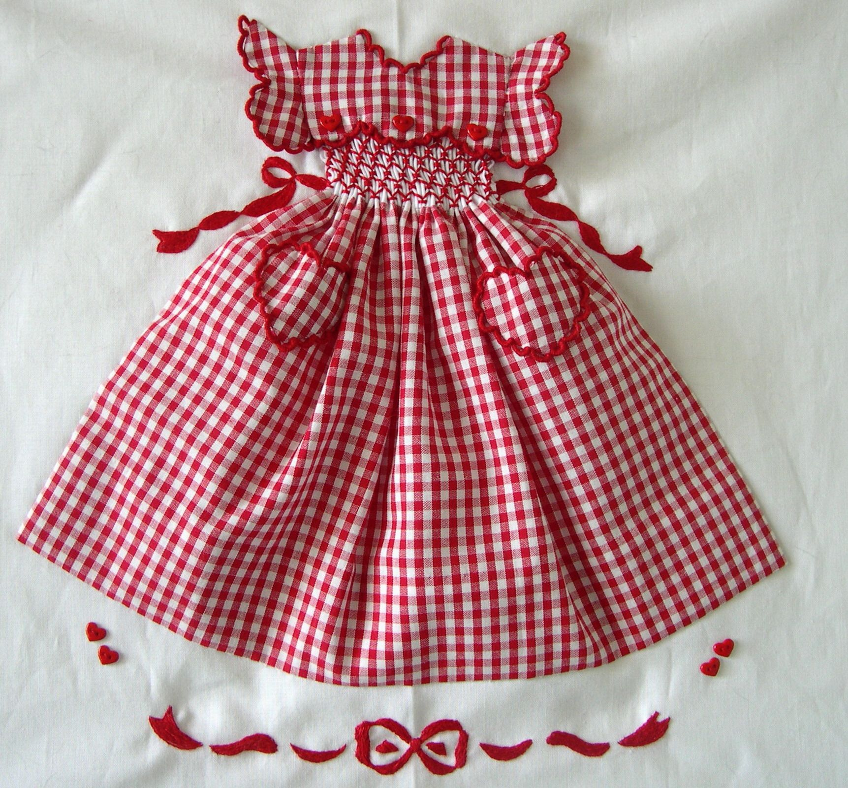 Sweet Valentine - quilt pattern, but this would be the cutest idea ... : doll dress quilt - Adamdwight.com