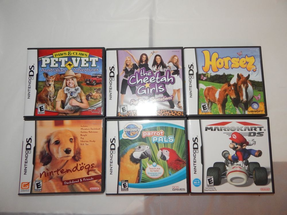 6 black nintendo 3ds ds game cases with game manuals no games rh pinterest ca diary girl nintendo ds game manual Best Nintendo DS Games