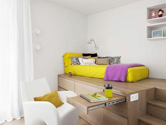 Comment bien choisir un meuble gain de place en 50 photos Rooftop