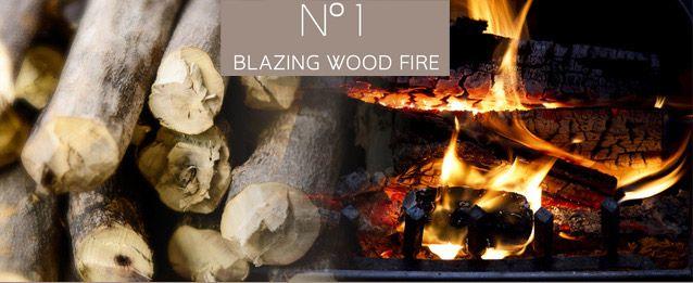 fireplace oil burning wood