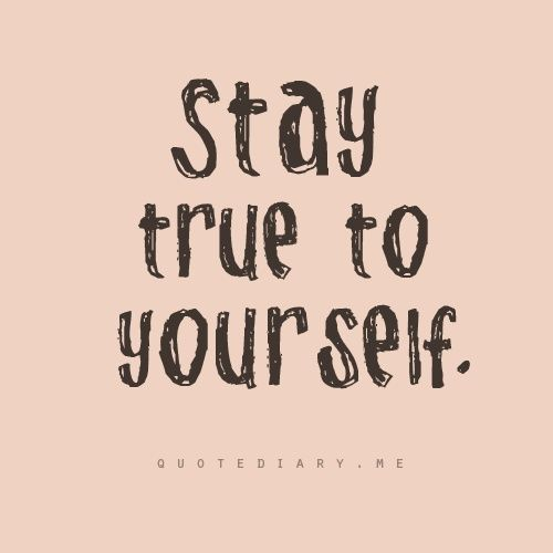 Keep Yourself Busy To Stay Happy Quotes: Stay True To Yourself