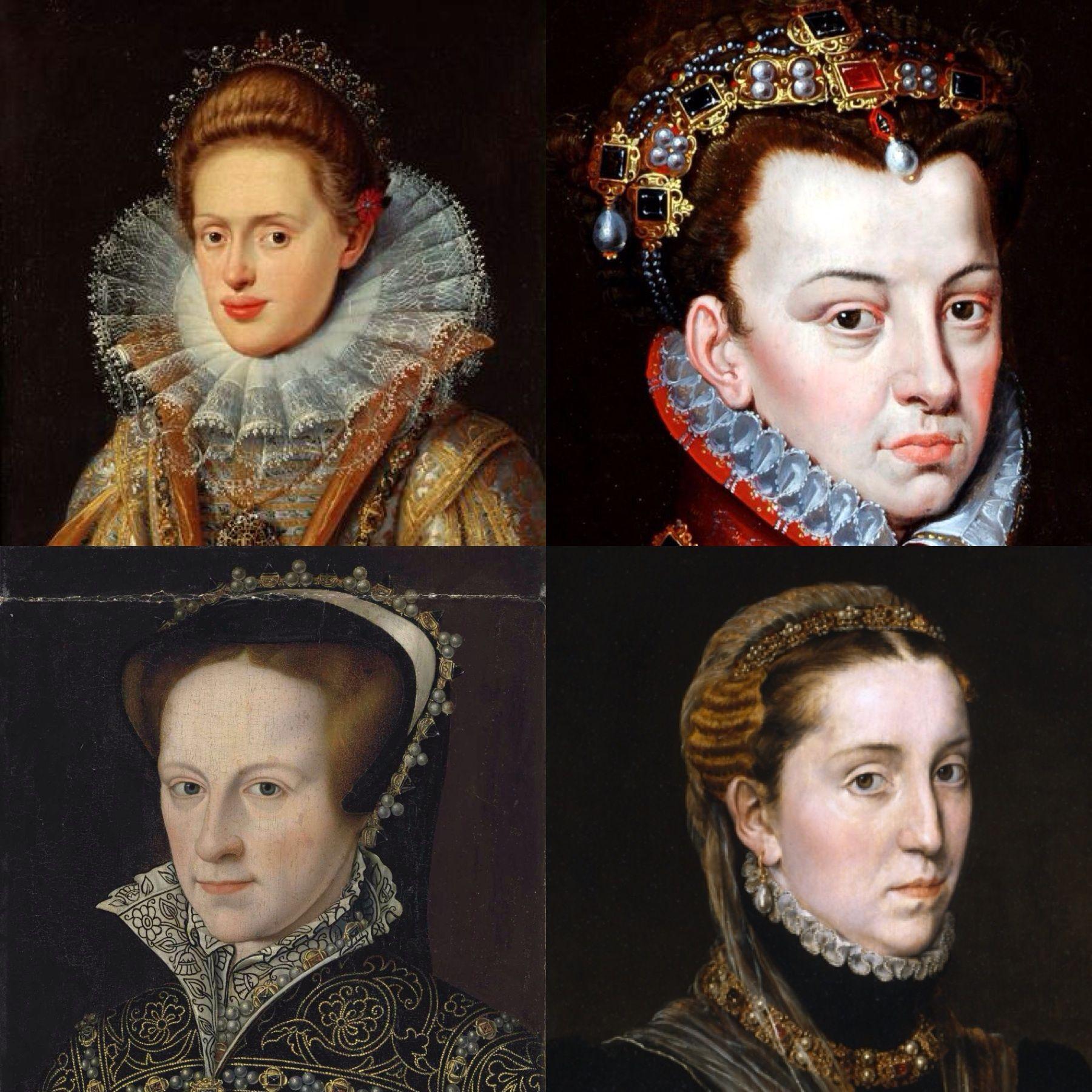 Resultado de imagen de esposas de felipe II