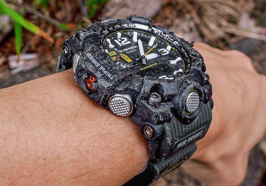Casio GShock GWG 10001A3 Mudmaster Watch Review Wrist