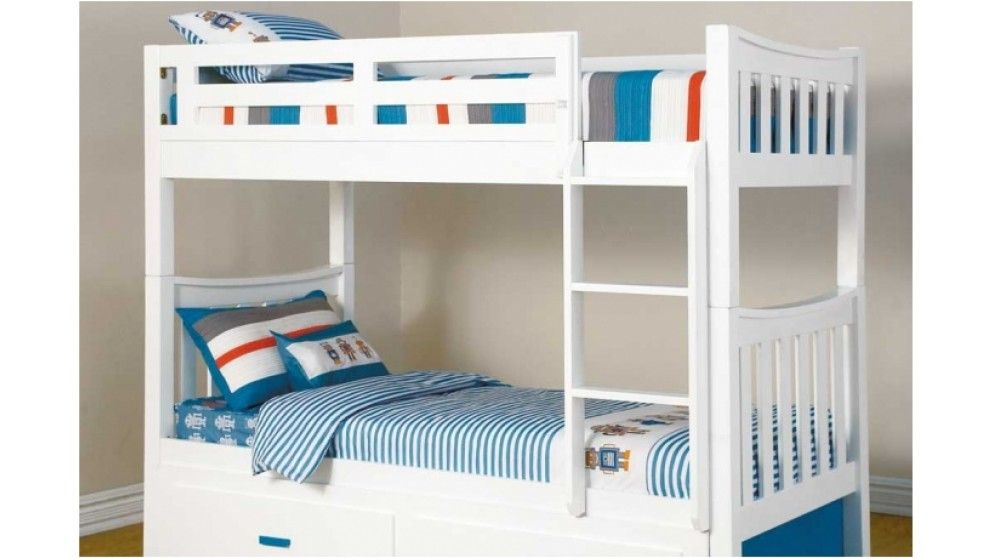 Kids Bedroom Beds melody single bunk bed - kids beds & suites - bedroom - beds