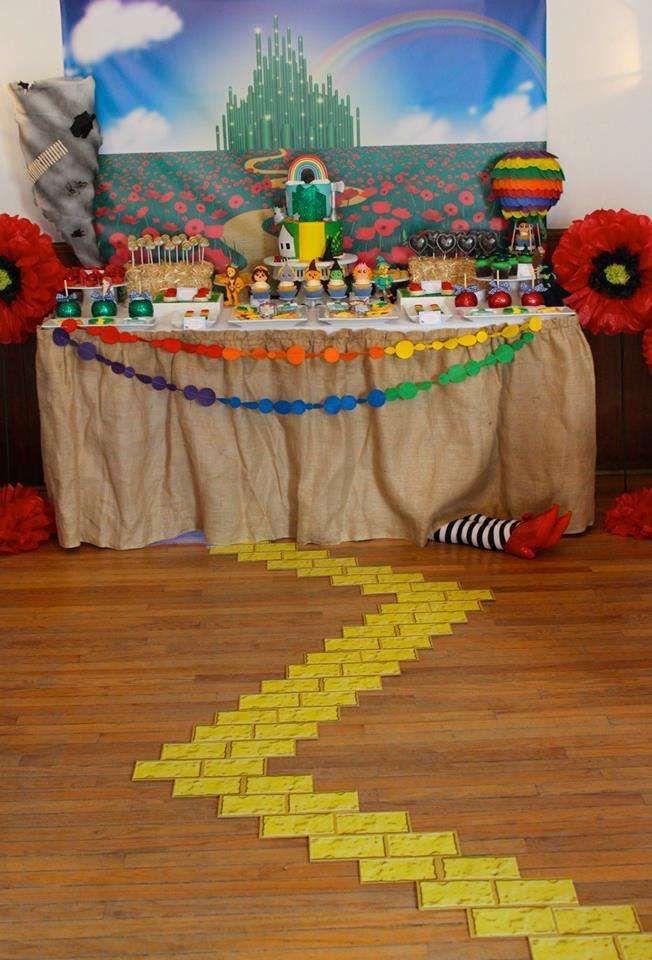 Wizard Of Oz Baby Shower Party Ideas Wizard Of Oz Decor Wizard