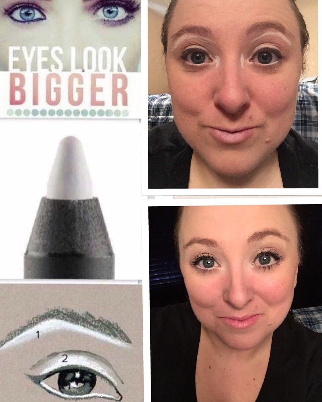 Make Eyes Brighter And Bigger Pristine Precision White Eyeliner Vs Black Eyeliner Smudge Proof Water Resistant B White Eyeliner How To Do Eyeliner Eyeliner