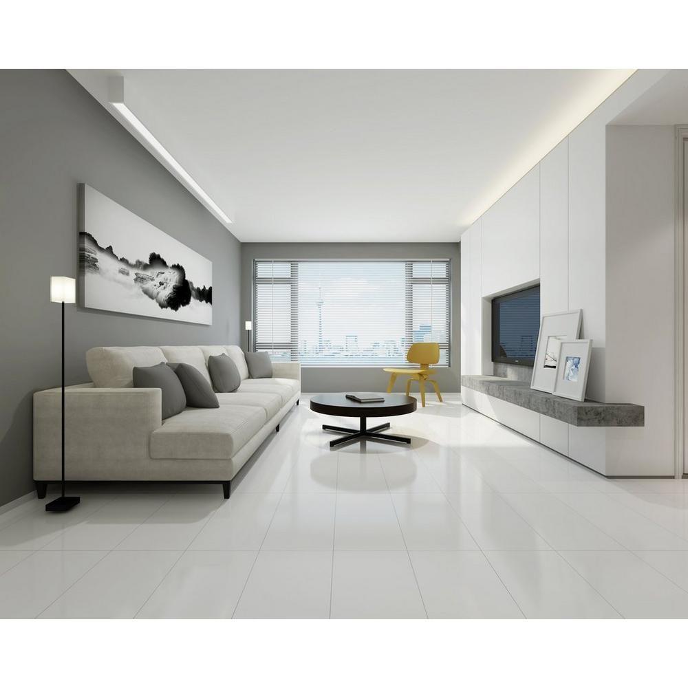 Super White Porcelain Tile Floor Decor White Porcelain Tile White Floors Living Room Living Room Tiles #white #tile #floor #living #room #ideas