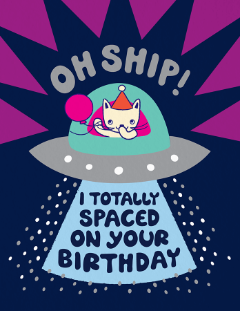 Oh Ship Birthday Card Design Cards Happy Paper Owls Night