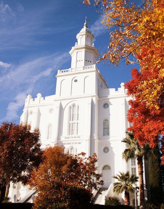 St. George LDS Temple    #MormonLink #LDSTemples    Find more LDS inspiration at: www.MormonLink.com