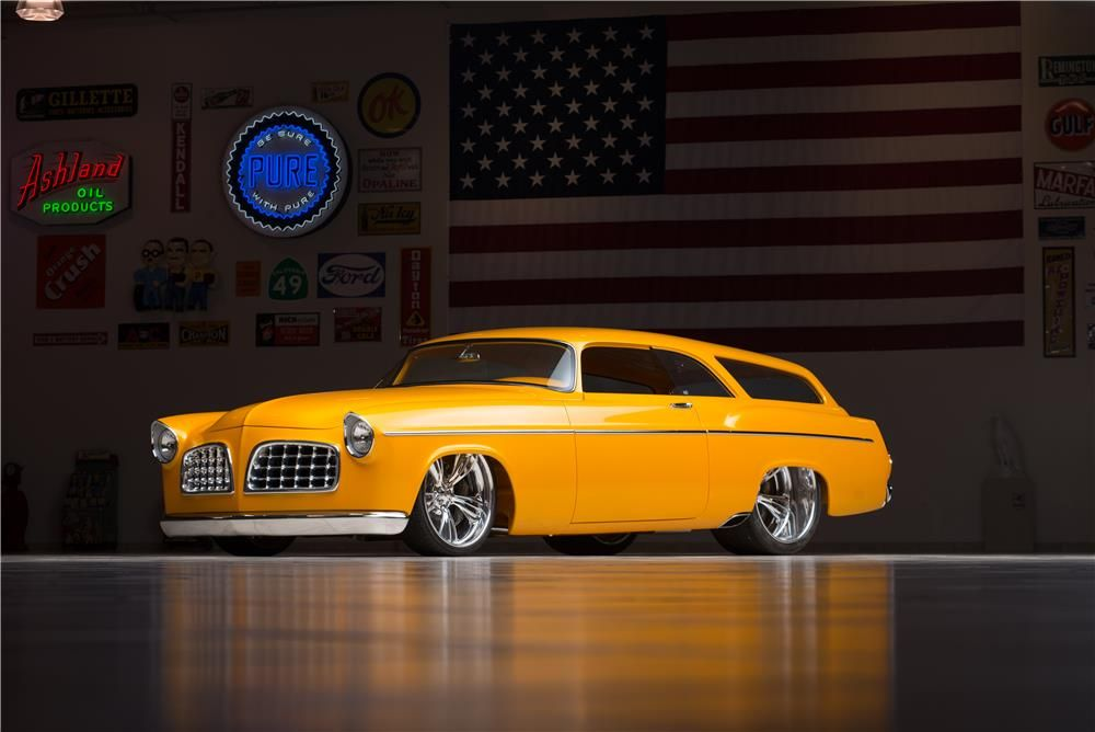 Superior The Only 2 Door 1956 Chrysler Wagon In Existence. HEMI Powered. Ridler  Great Eight