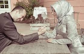 Let your wife win just for the pleasure of seeing her smile:)<3