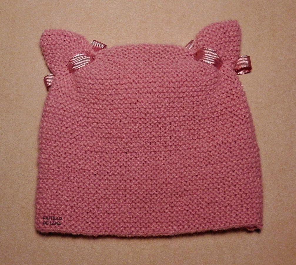 Tutorial muy sencillo: Cuatro gorros con el mismo patrón. | Crochet ...