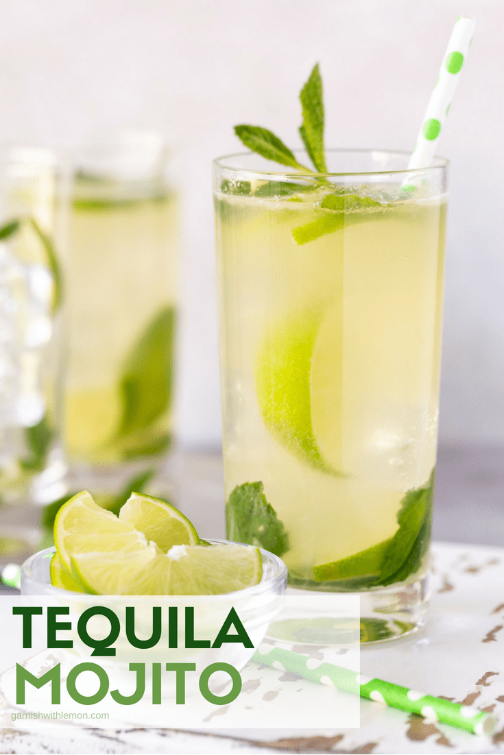 Why choose between a margarita and a mojito when you can have the best of both worlds in this Tequila Mojito Cocktail recipe?
