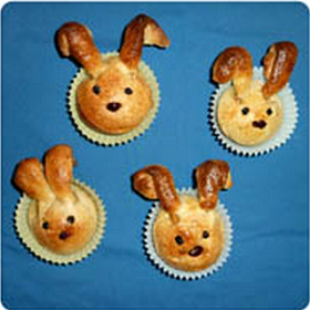 Easter Bunny Rolls	 Image Source: Unknown from Twiggle Magazine  Easter, and the entire Spring season, is all about new beginnings. The g...