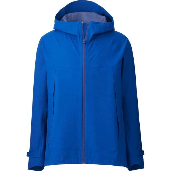 new products for uk availability look out for UNIQLO BLOCKTECH Hooded Rain Jacket ($85) ❤ liked on ...