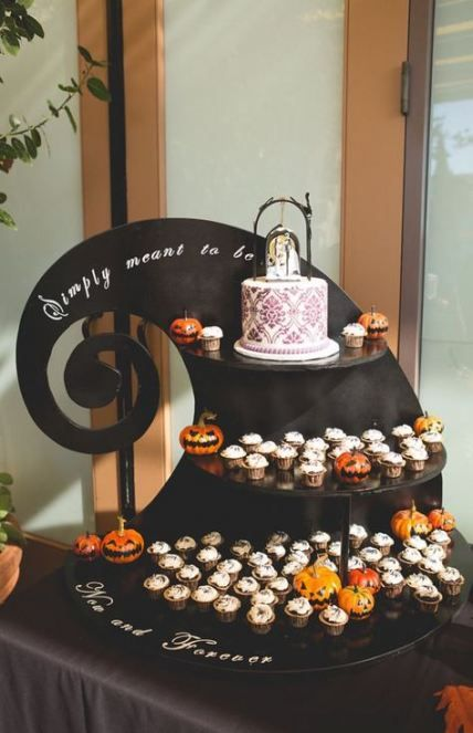 34+ Ideas Wedding Themes Disney Nightmare Before Christmas #christmasweddingideas
