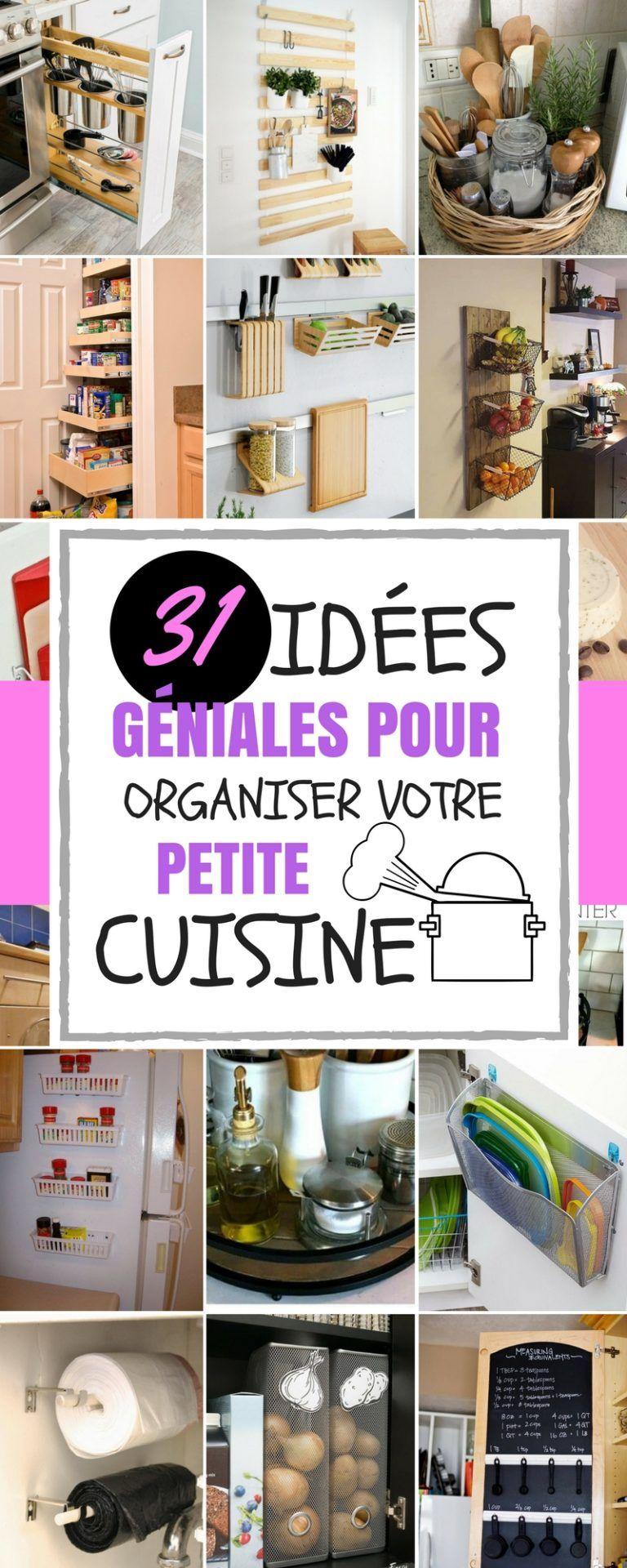 31 idÉes gÉniales pour organiser votre petite cuisine | maison